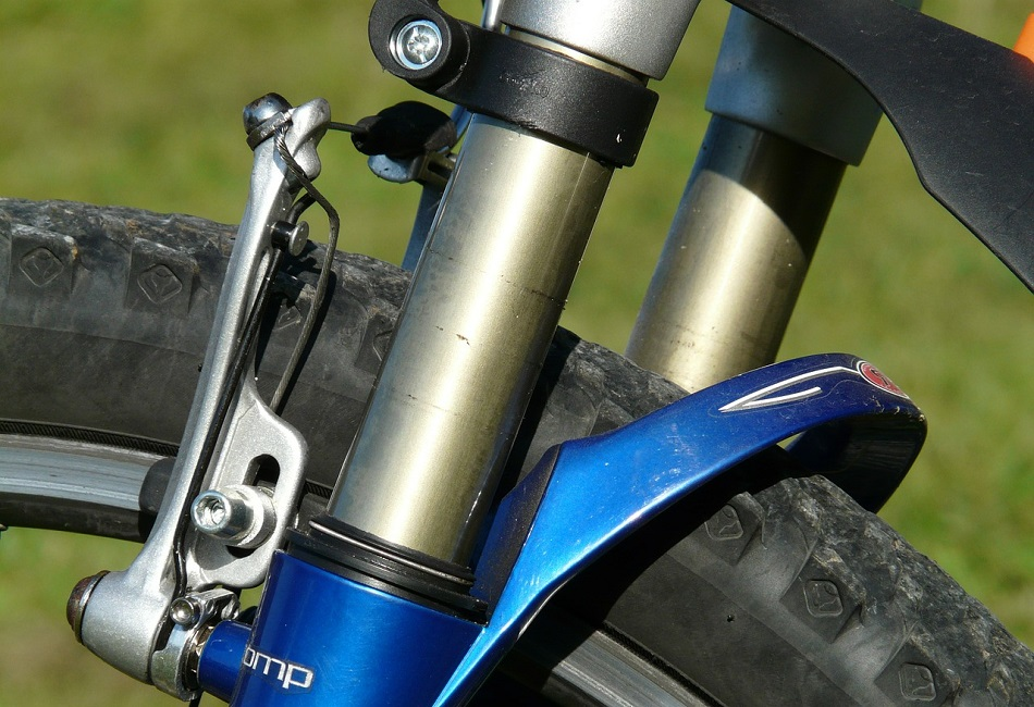 hybrid bike suspension